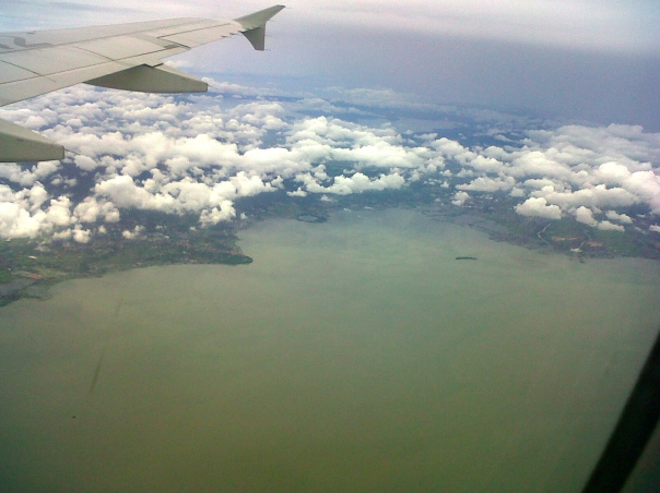 arial view of Tadlac Lake