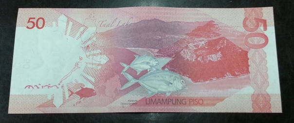 The Taal Lake GT Featured on the Philippine 50 Peso Bill