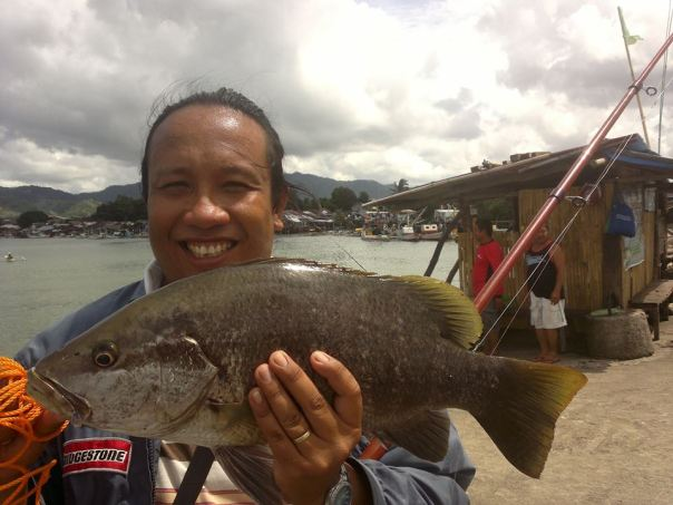 Mark's 3kg Snapper from Dipolog