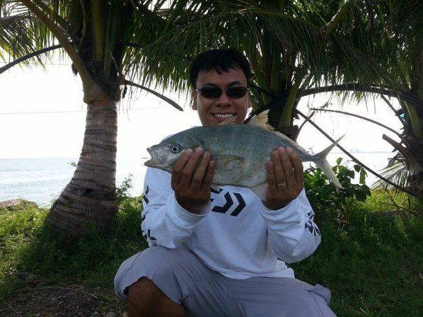 trevally fishing cebu
