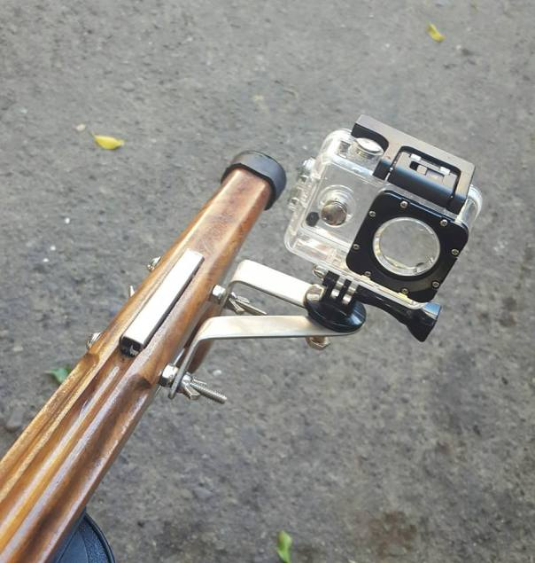 speargun camera mount